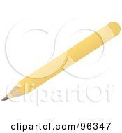 Diagonal Yellow Pencil