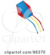 Colorful Kite Flying In The Wind 2