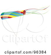 Colorful Kite Flying In The Wind - 3