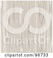 Royalty Free RF Clipart Illustration Of A Pale Wood Grain Texture Background