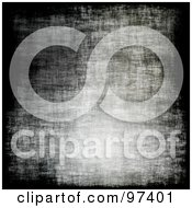 Royalty Free RF Clipart Illustration Of A Seamless Grungy Gray And Black Background