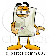 Clipart Picture Of A Light Switch Mascot Cartoon Character Whispering And Gossiping by Toons4Biz