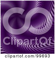 Royalty Free RF Clipart Illustration Of An Abstract Purple Halftone Spiral Background by elaineitalia