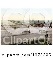 Ticket Booths At The Pier In Southport Sefton Merseyside England UK Royalty Free Stock Photography