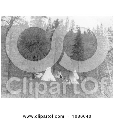 Tipis - Free Historical Stock Photography by JVPD