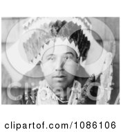 Tolowa Head Dress Free Historical Stock Photography