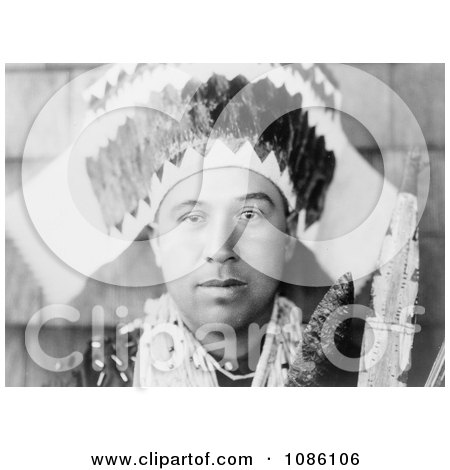 Tolowa Head Dress - Free Historical Stock Photography by JVPD