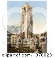 Tower Of The Forty Martyrs Nebi Samuel Holy Land Israel Royalty Free Stock Photography