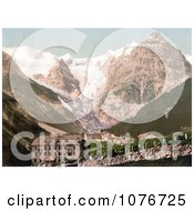 Trafoi Hotels Bellevue Schonen Aussicht And Trafoi Tyrol Austria Royalty Free Stock Photography by JVPD