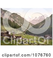 Tre Croci With A View Towards The Weisskogl Weisser Knott Tyrol Austria Royalty Free Stock Photography