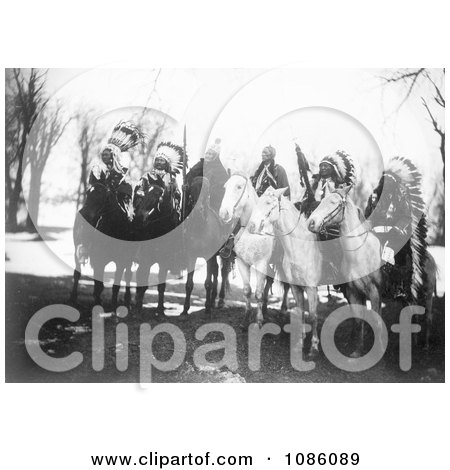 Tribal Leaders on Horses - Free Historical Stock Photography by JVPD