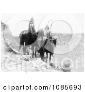 Two Crow Indians Packs The Hat And Which Way Free Historical Stock Photography