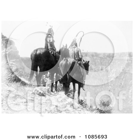Two Crow Indians, Packs The Hat and Which Way - Free Historical Stock Photography by JVPD