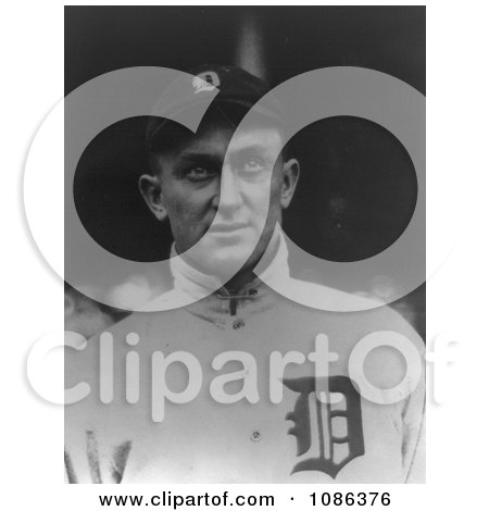 Ty Cobb, Baseball Player of the Detroit Tigers - Free Historical Baseball Stock Photography by JVPD