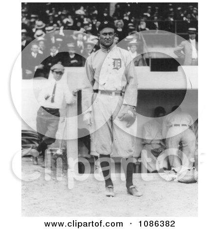 Tyrus Raymond Cobb, Detroit Tigers Baseball Player - Free Historical Baseball Stock Photography by JVPD