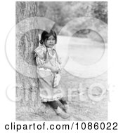 Umatilla Girl Free Historical Stock Photography by JVPD