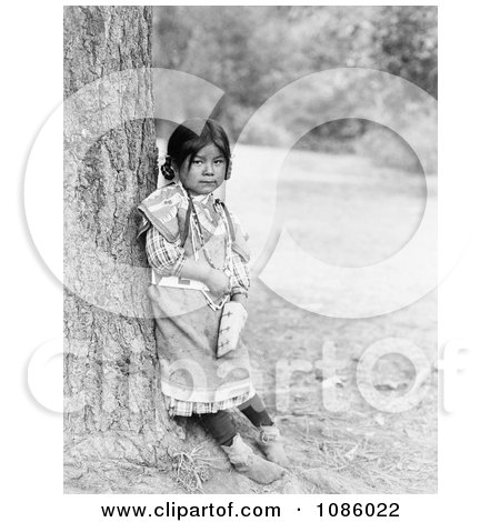 Umatilla Girl - Free Historical Stock Photography by JVPD