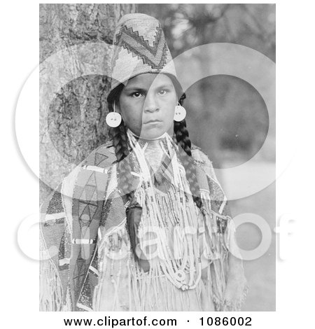 Umatilla Woman - Free Historical Stock Photography by JVPD