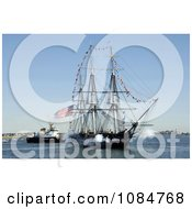 USS Constitution Ship Free Stock Photography by JVPD