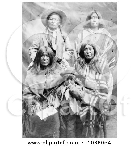 Ute Family - Free Historical Stock Photography by JVPD
