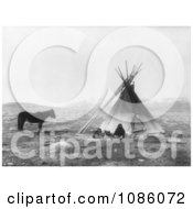 Ute Tepee Free Historical Stock Photography