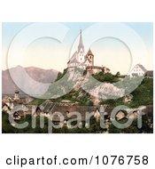 Vorarlberg Rankweil And Hohenkasten Tyrol Austria Royalty Free Stock Photography