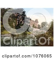Warwick Castle On The River Avon In Warwick Warwickshire West Midlands England UK Royalty Free Stock Photography