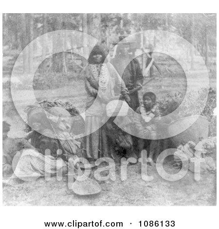 Washoe Indians - Free Historical Stock Photography by JVPD