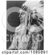 White Shield Arikara Man Free Historical Stock Photography