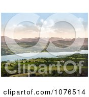 Windermere Cumbria Lake District England Royalty Free Stock Photography