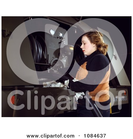 Woman Inspecting Gasoline Hoses - Free Stock Photography by JVPD